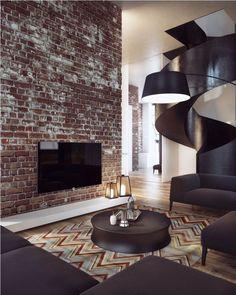 Фото — Penthouse изумрудный  — Design of apartments