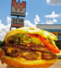 Whataburger, the single greatest thing about texas! sooooo good