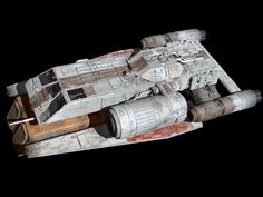 From Buck Rogers. Bomber model, but did double duty as a stand in ship, as tbe production crew used many of the ships over and over again. Lego Spaceship, Spaceship Design, Spaceship Concept, Star Wars Rpg, Star Wars Ships, Maquette Star Wars, Star Wars Spaceships, Star Wars Vehicles, Star Trek Universe