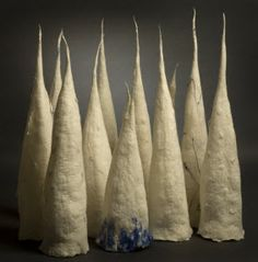 Glacial Peaks. AnnaGunnarsdottir - Felt Fiber Art