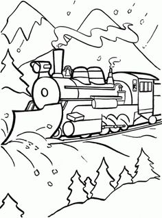 Polar Express Coloring Pages, Worksheets and Puzzles. Polar Express Coloring Pages, Worksheets and Puzzles collection. Polar Express is a popular children's ani Polar Express Crafts, Polar Express Activities, Polar Express Theme, Polar Express Train, Train Coloring Pages, Colouring Pages, Coloring Sheets, Coloring Pages For Kids, Coloring Books