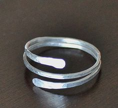 Aluminum Ring handcrafted artisan jewelry by KaterinaCollection