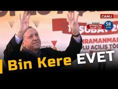 Cumhurbaşkanı Erdoğan'ın referandum şarkısı: Bin Kere Evet
