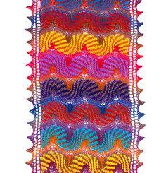 Ravelry: Zanzibar pattern by Kieran Foley #scarf