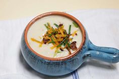 This Leftover Creamy Mashed Potato Soup Recipe is perfect to get your creativity kick started after the holidays!