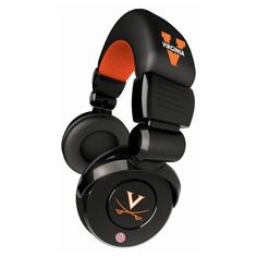 Ihip Pro Dj Headphones With Microphone - Virginia Cavaliers