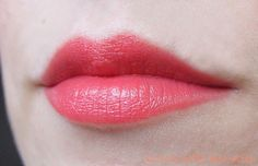 √Essence: Longlasting Lipstick in Coral Calling ... love to pair with a shimmery or glittery gloss