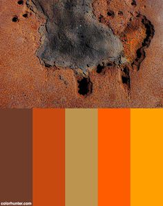 Rust+Color+Scheme