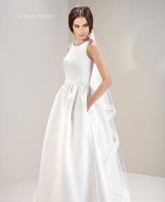 Vestido novia Jesús Peiró Ref.7021 JESUS PEIRO gown MIRTILLI COLLECTION 2017