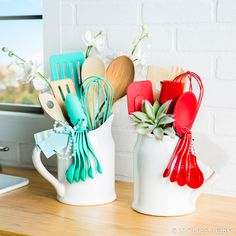 These beautiful utensil bouquets are the perfect any-occasion gift!
