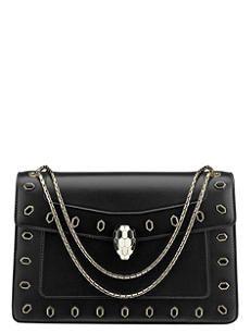f38ec58562 BVLGARI Serpenti Forever calf-leather shoulder bag Crossbody Bag