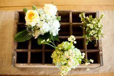 Ranch Wedding Floral Decor