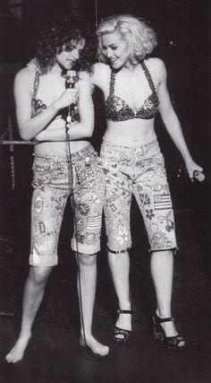 Madonna & Sandra Bernhard (1989)