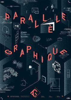 Graphic design festival – Écosse – affiche 2014