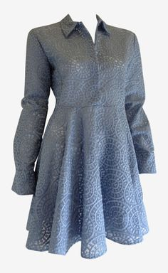 Stella McCartney Blue Dress | VAUNTE