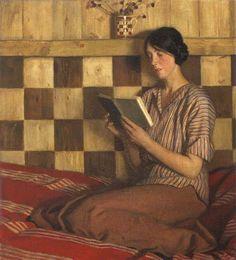 Women Reading - loumargi:   Harold Knight
