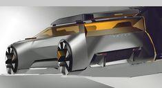 Rashid Tagirov on Behance Ford Mustang Coupe, Ford Gt, Car Design Sketch, Car Sketch, Custom Big Rigs, Custom Cars, Car Side View, Beach Cars, Futuristic Cars