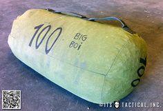 DIY sandbag idea #3 from itstactical.com https://uk.pinterest.com/uksportoutdoors/home-gyms/pins/