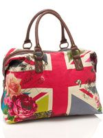 UNION JACK WEEKENDER  £40.00 from Accessorize