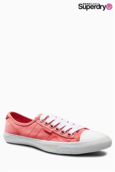 Coral Superdry Low Profile Sneaker