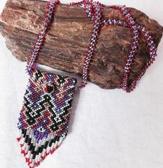 Ketten lang -  ♥INDIAN LOVE♥Ethno Boho Kristalltäschchen  Maya - ein Designerstück von santa-fee bei DaWanda