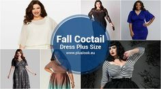 Fall Cocktail Plus Size Dresses 2017 - http://pluslook.eu/trends/fall-cocktail-plus-size-dresses-2017.html. #dress #woman #plussize #dresses