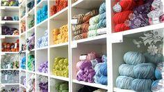Knit With Attitude (UK): www.knitwithattitude.com (Delivery from 3.95€) *Araucania, Debbie Bliss, Du Store Alpakka, Excelana, Mango Moon, Mirasol, Natural Dye Studio, Sorazora, South West Trading Co, Viking of Norway