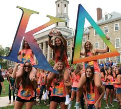 Kappa Delta at Pennsylvania State University Pennsylvania State University, Go Greek, Kappa Delta, Bid Day, Sorority, Good Music, Classic, Letters, Travel