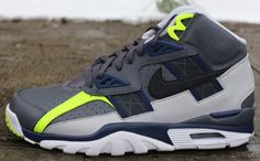 Nike Air Trainer SC Grey/Navy-Volt