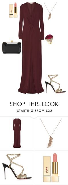 """""""CHARITY PROJECT LAUNCH"""" by stylev ❤ liked on Polyvore featuring Issa, STONE, Christian Louboutin, Elie Saab, Bulgari, women's clothing, women, female, woman and misses"""