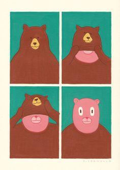 Las historias ilustradas de Joan Cornellà nos explotan en la cara.
