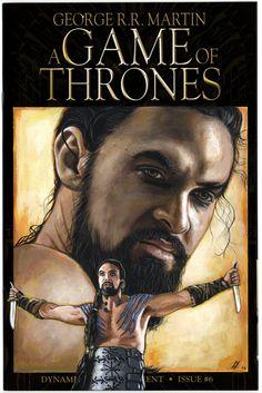Khal Drogo cover blank Game of Thrones by ED-LLOYD.deviantart.com on @DeviantArt