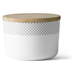 Menu - Grey Stitches Jar w. Lid, L