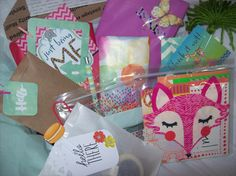 Surprise Goody Box Planner Kit Filled with Stationery, Planner & Snail Mail Supplies by ASprinkleOfLovely on Etsy