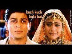 Shah Rukh Khan and Kajol from Kuch Kuch Hota Hai Kuch Kuch Hota Hai, Shahrukh Khan And Kajol, Salman Khan, Hindi Video, Status Hindi, Bollywood Songs, Saddest Songs, Indian, Wedding