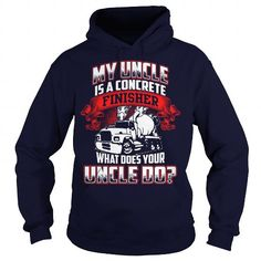 My uncle is a…