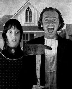 Shelley Duval & Jack Nickolson • The Shining from Stanley Kubrick 1980