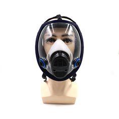 6800 Máscara De Gás Militar Tinta Spray Respirador N95 Completo Maskfor  Produtos Químicos, Gases, 1063ec7b72