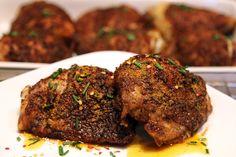 Crispy Curry Rub Chicken Thighs | Ruled Me