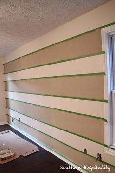 painting striped walls
