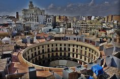 Plaza Redonda after restauration in 2006 - Valencia