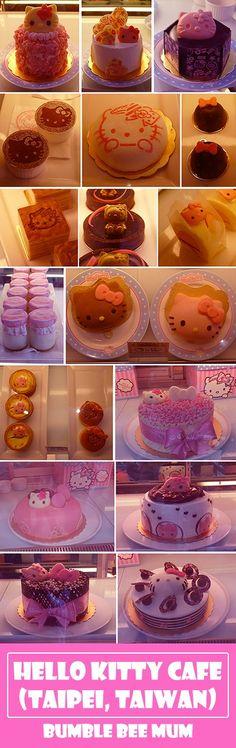 Hello Kitty fans will LOVE Hello Kitty Cafe Kitchen & Dining in Taipei, Taiwan! - Bumble Bee Mum