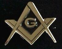 Freemason Masonic Square and Compass Lapel Pin