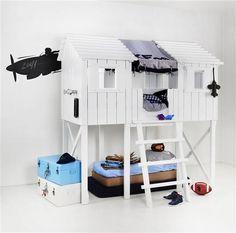Playhouse from Kidsfactory via Ingrid Del Valle-Brouwer