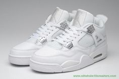 AIR JORDAN 4 PURE All White 308497-102 Sneakers