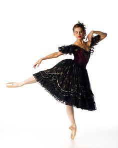 Joburg Ballet prima ballerina Burnise Silvius  in 'La Traviata - The Ballet' - Photo by Lauge Sorensen