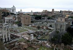 Ancient Rome, from Palatine Hill