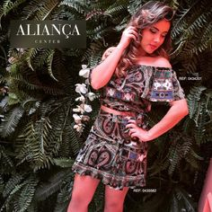 #mulpix Duplinha só amor para arrasar no final de semana! Essa blusinha e short com a mesma estampa são muuuito fofos! Vestem super bem e são ideais para uma saidinha mais casual! São vendidos separadamente, para você combinar com outros looks também! ;)  #fashion  #trend  #ootd  #newin  #Moda ▶ Short: R$ 69,90 (0435582) ▶ Blusa: R$ 59,90 (0434201)