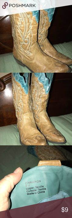 Boots Size 8 Boots Size 8. Boots are in good used condition. Soles are in great shape Shoes Heeled Boots
