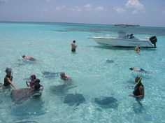 Grand Cayman Island.  Have you ever seen better water?!?!  It's AMAZING, and WARM, too!